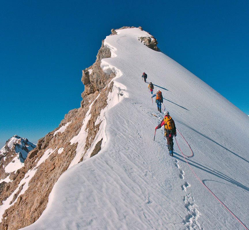 SwissCommunity : Traditional mountaineering is in decline