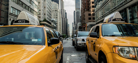 [Translate to it:] Taxis in New York City